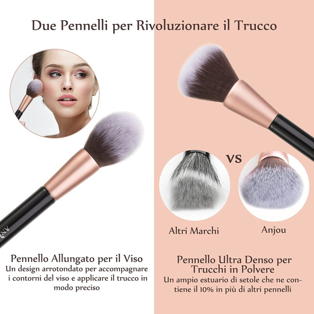 differenza pennelli make up