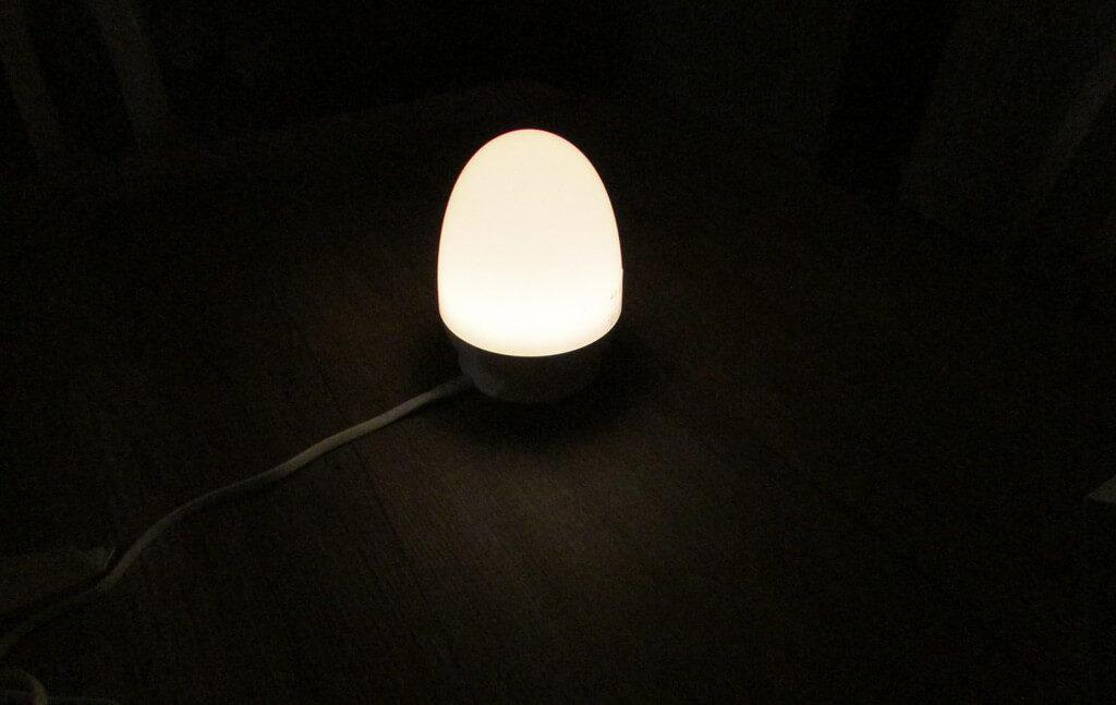 lampada veva bambini luce soffusa