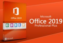 microsoft office 2019 professional key