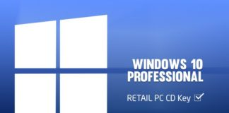 windows 10 pro key 64 bit originale