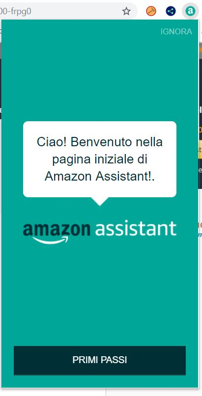 amazon assistant installata